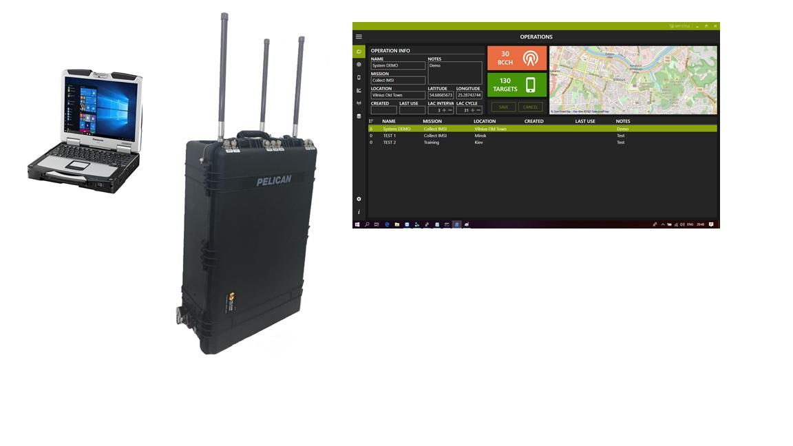 IMSI Catcher IMSI400+SW